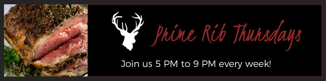 Prime Rib Thursdays!